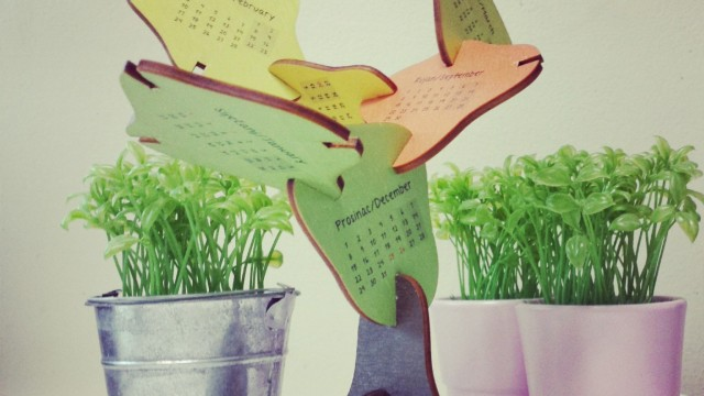 Drveni kalendar